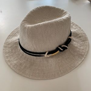 Vince Camuto Cream packable Panama hat